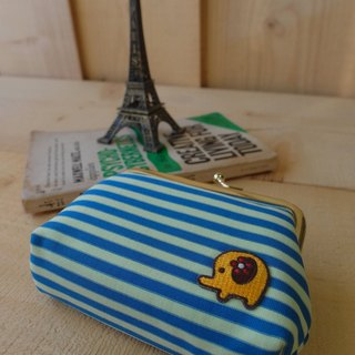 HiDots love ghostly wallet (blue yellow article * elephant)