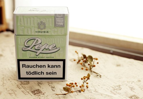 Good day [fetish] Germany VINTAGE light green cigarette