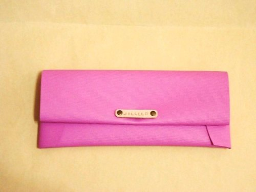 Simple and stylish pencil case - Sakura Pink (customized print name standard)