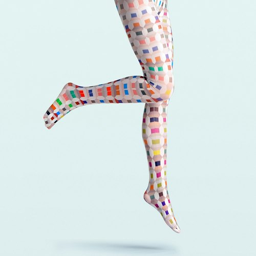 viken plan creative designer brand pantyhose stockings socks stockings color pattern may force