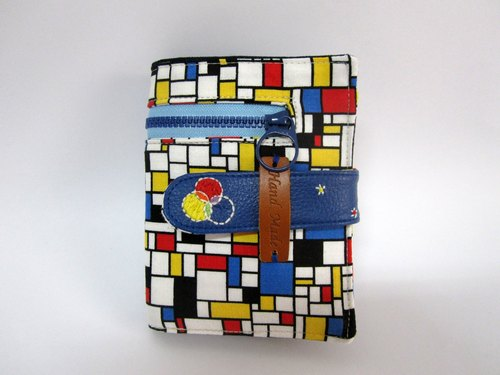 * 1 + 1 = 5 / Mondrian's primary colors cloth short clip *