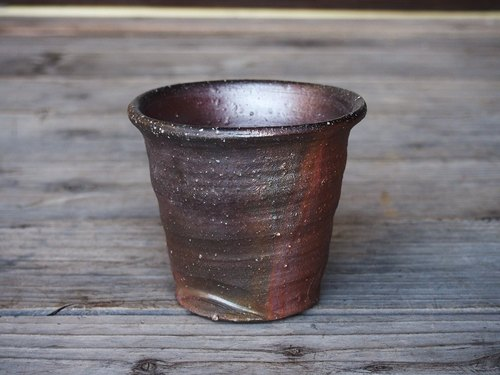 Bizen shochu flea (large) [wave] _s1-007