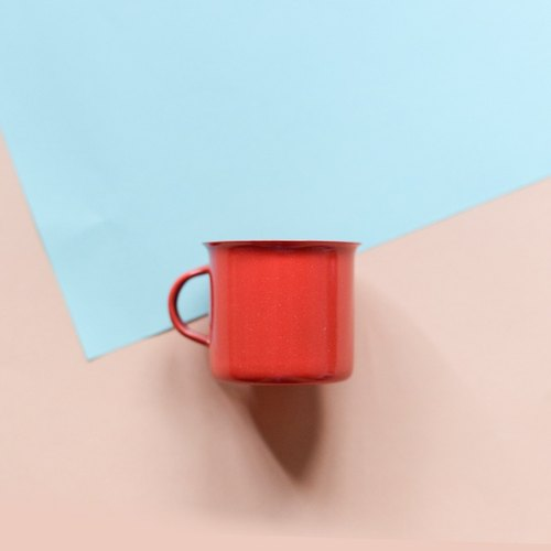 Coffee time: concentrate Mug (red)