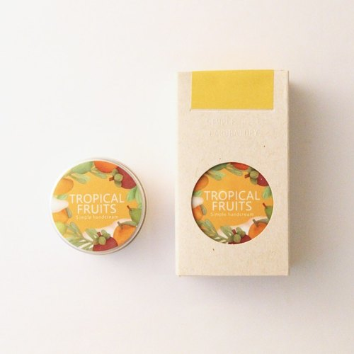 SLL Simple Handcream cream tropical fruits Tropical Fruits