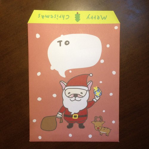 Christmas Xiaoqiang Claus | envelopes (5 in)