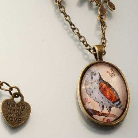 ‧ Brisk XIANGYING necklace retro Mori Department healing