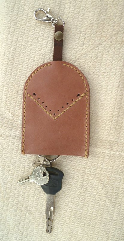 Leather bell-shaped key sets Bell Key Case