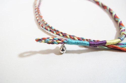 [M.design] colorful lucky rope - Purple Romantic