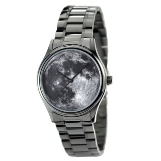 Moon Watch (Black) in black case metal band