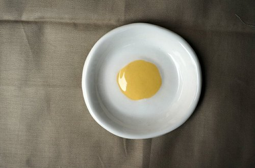 Poached saucer