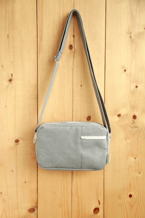 [Packet] washed canvas carry dorsal gray
