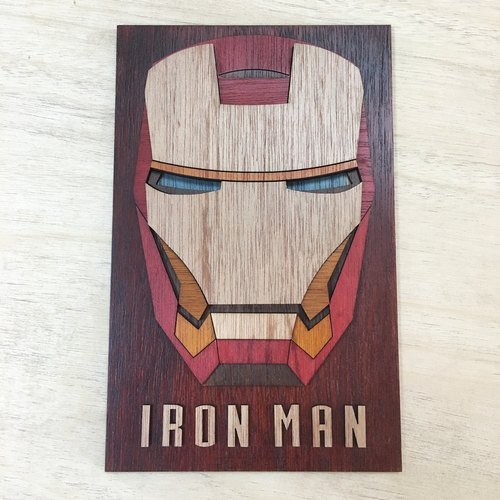 Timber Paint-IronMan