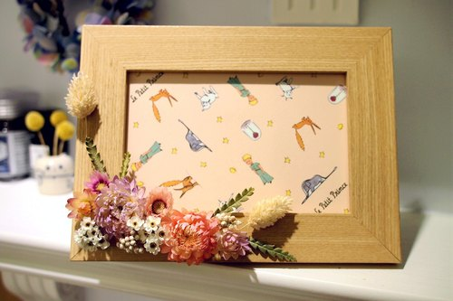 *Moments*dried flower Frame