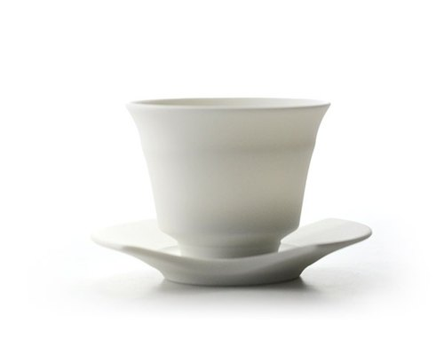 Kurekure white porcelain bowl roast set