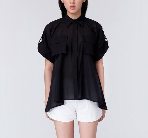 CA Crystal Shirt umbrella Jiangnian plain shirt
