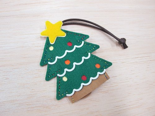 Christmas tree key ring