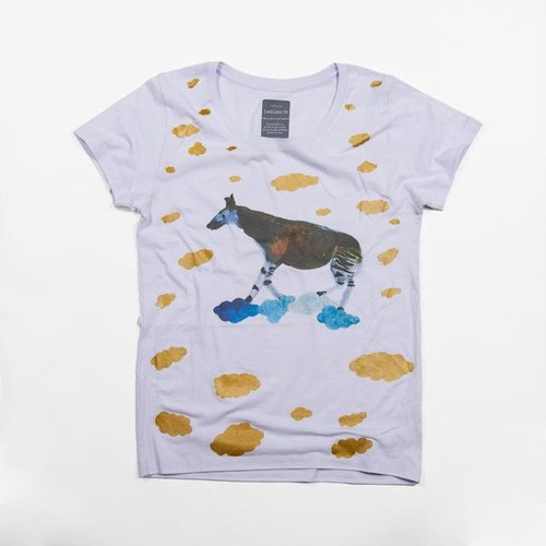 Okapi animal (Animal) illustration T-shirt Tcollector