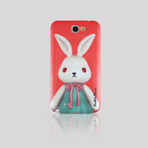 (Rabbit Mint) Mint Rabbit Phone Case - Bu Mali Merry Boo - Samsung Note 2 (M0001)