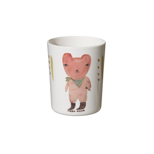 Hungry Bear children's cups | Donna Wilson