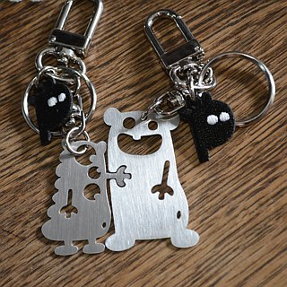 I Still Like You  Stainless Steel Keychains / Set Valentine's Day