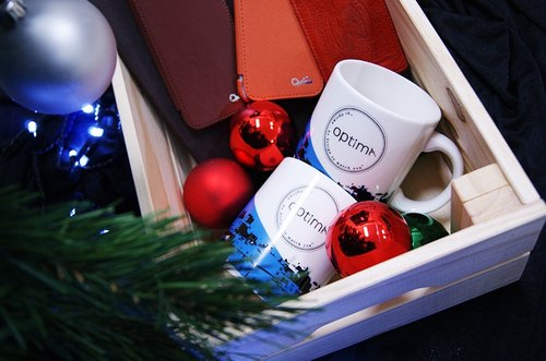 Gift filled to capacity // Optima series of products over one thousand limited edition style mug or gift