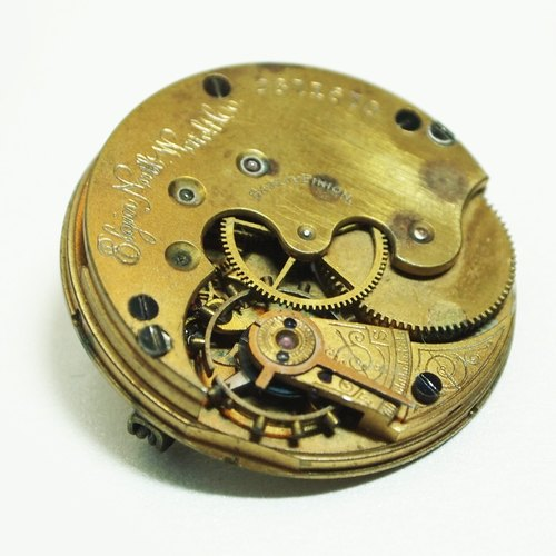Steampunk movement pin 2718403