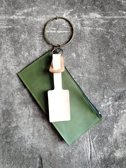 [Endorphin] tag holding purse + free printing <green>