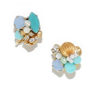 【Luce Costante】 Petit Earrings / LC-1598 D (Ear Button)