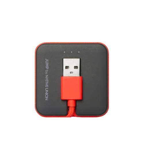 [Lightning - USB] Native Union + Mobile power transmission line JUMP ™ Cable coral 4897032107861