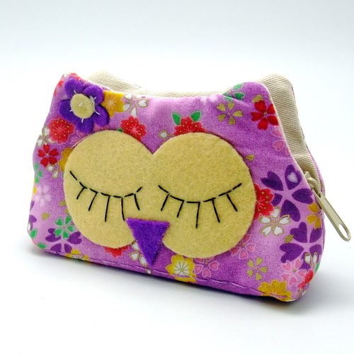 Zipper pouch / coin purse (padded) (ZS-137)