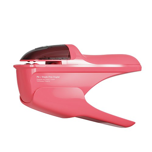 PIN No Needle Stapler - Pink