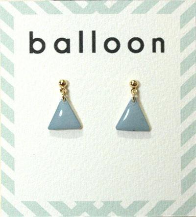 Smoky Pastel_S.Blue earrings
