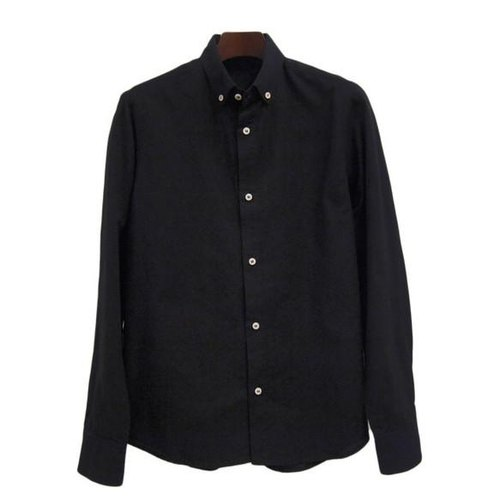 <Mサイズ> The black-dyed by Tsumugirabo by black-dyed shirt traditional craft Nagoya black crested dyed of Japan