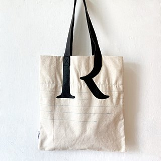 Exercises Book Tote Bag - Alphabet R S F ( Link with Handle )