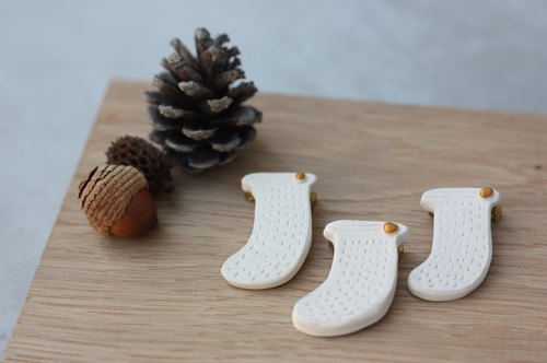 Christmas Forest Series - Christmas stockings pin