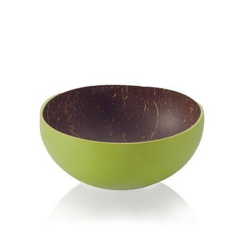 [Bambu] Nanyang coconut shell mini small round bowl - Kiwi