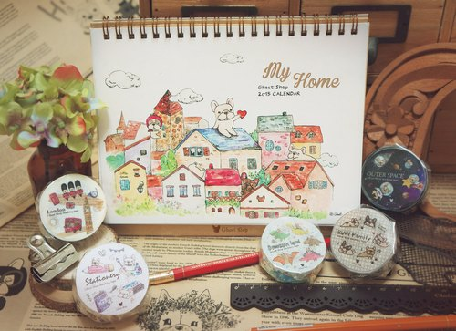 (Sold out) Act 2015 desk calendar Doo -My Home