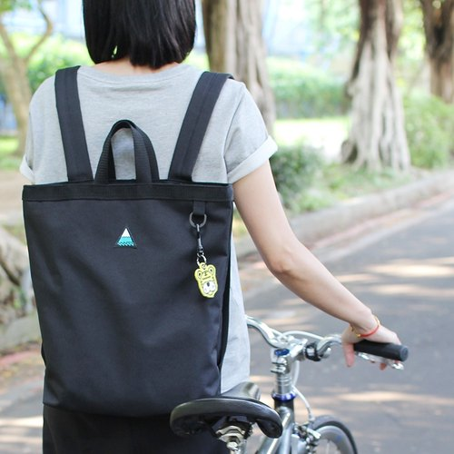 """H-ZOO"" mobile dual shoulder after black backpack ver 3.0 (Sold Out)"