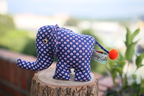 Elephant cloth decorated