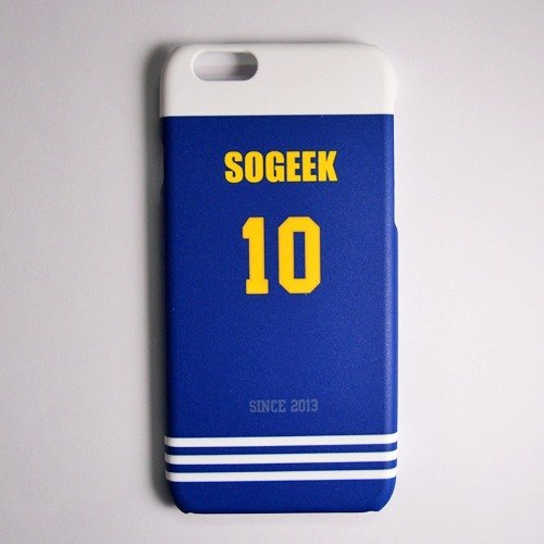 SO GEEK phone shell design brand THE JERSEY GEEK jersey back number Customized paragraph 006