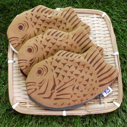 Taiyaki pouch * red bean