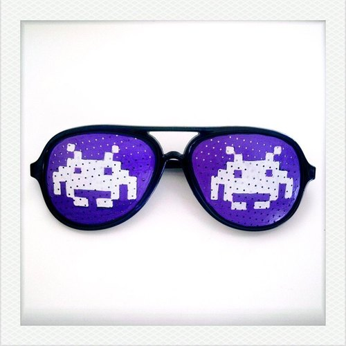 [Iamkamty] Hand Drawn Shades (Space Invaders)
