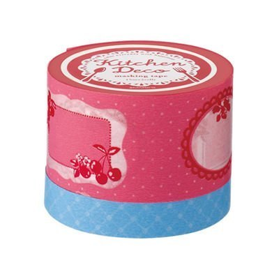 Marks MT and paper tape Kitchen-Deco Food Labels - blue (KDC-MKT2-BL)