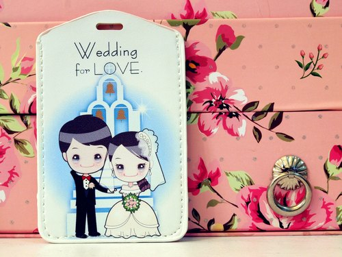 """Wedding for LOVE. Wedding small thing"" romantic white gauze. Easy Card sets / Documents folder Package"