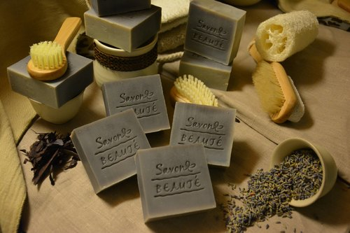 [Savon beauté - Lufthansa Wendy workshop] comfrey lavender soap Repair