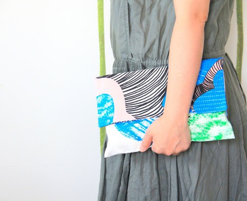 weimom's Nordic minimalist fashion bag, clutch ● Made in Taiwan - hand as Ichiban