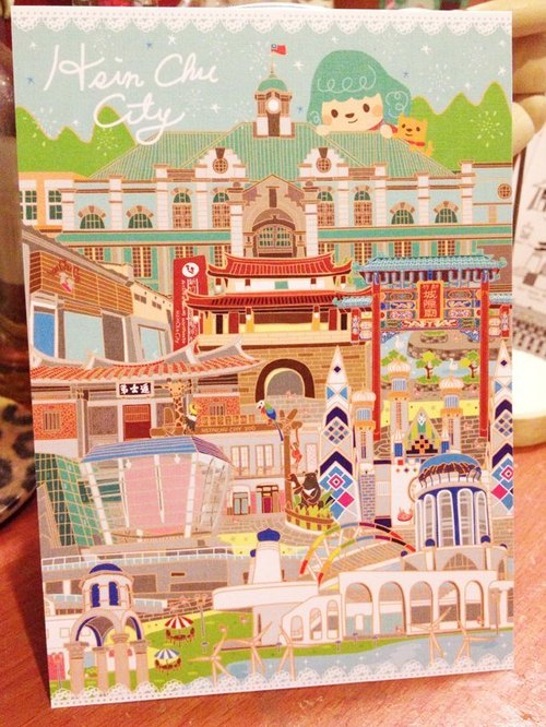 Hsinchu limited Postcards