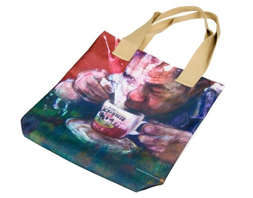 Everything expires by Vivian Ho canvas bag