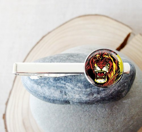 The Lion King - tie clip men's fashion accessories ︱ ︱ ︱ father birthday gift groom accessories