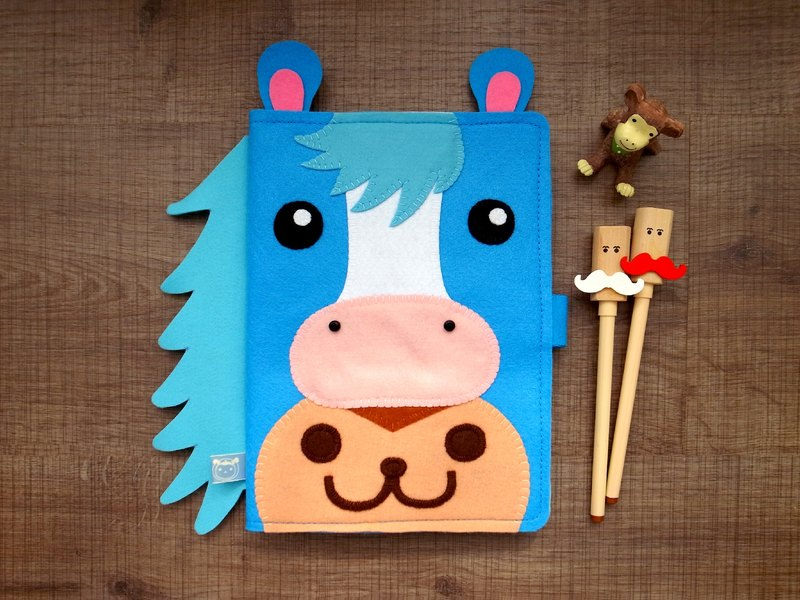 boboSARU Bobo Pony Monkey Handbook Cloth Book Cloth